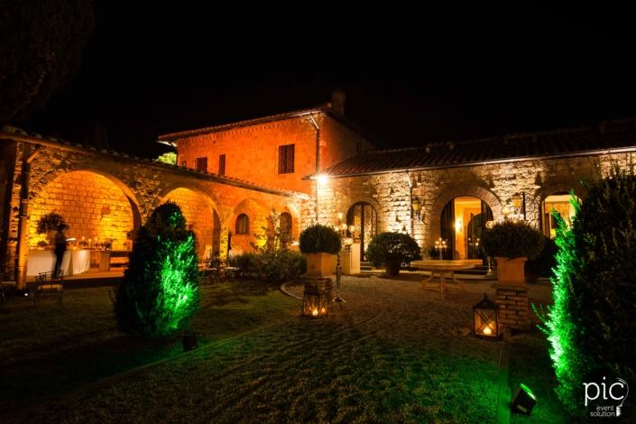 Villa Livia illuminazione